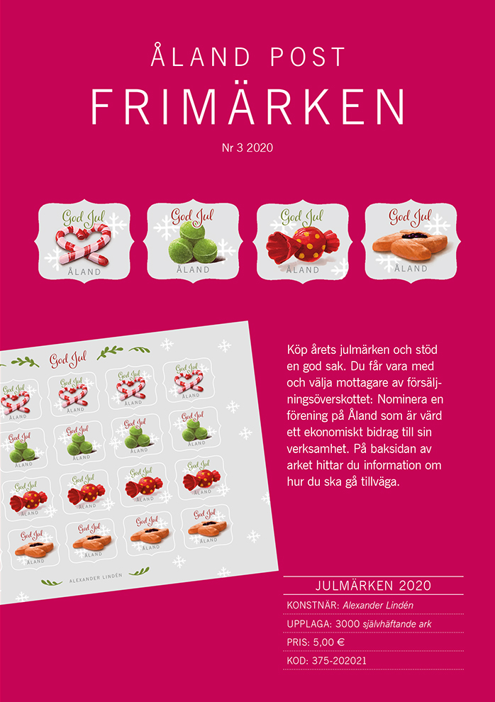 Magazine for Åland stamps