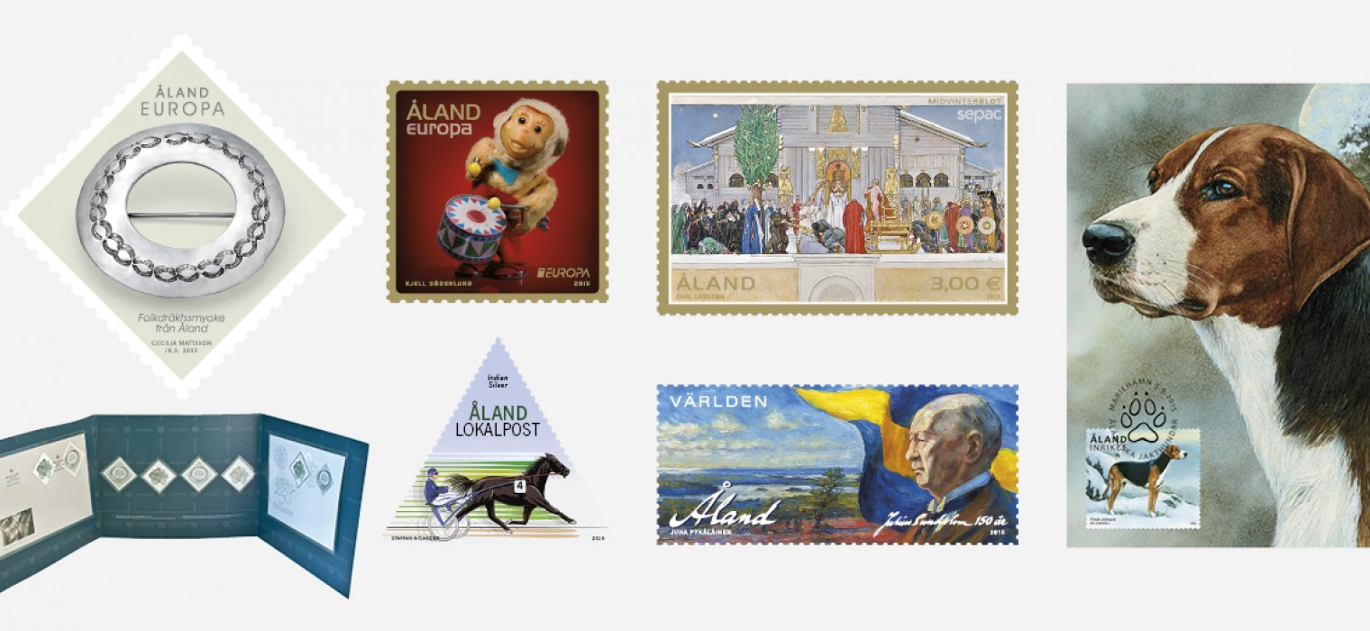 2015 Åland stamps collectibles