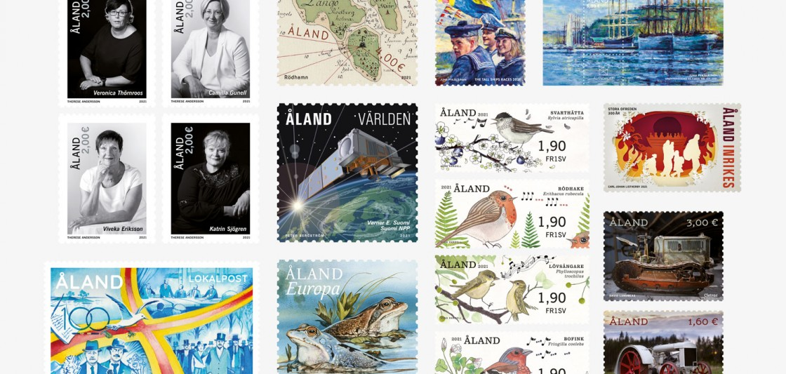 Åland postage stamp program 2021