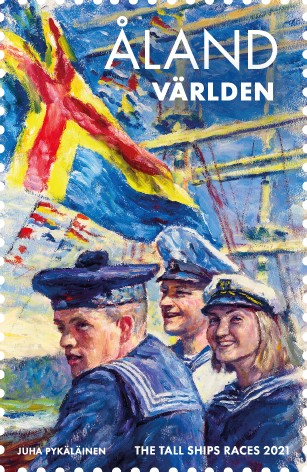 Åland 2021 stamp Tall Ships Races
