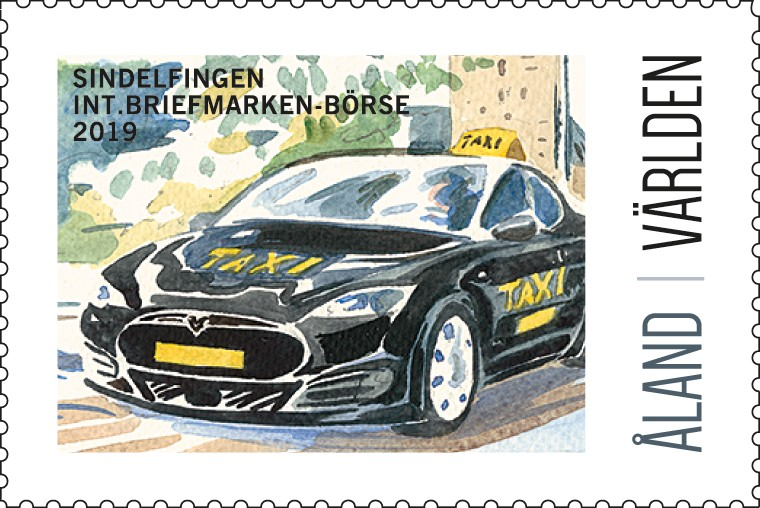 Exhibition stamp 2019 Sindelfingen
