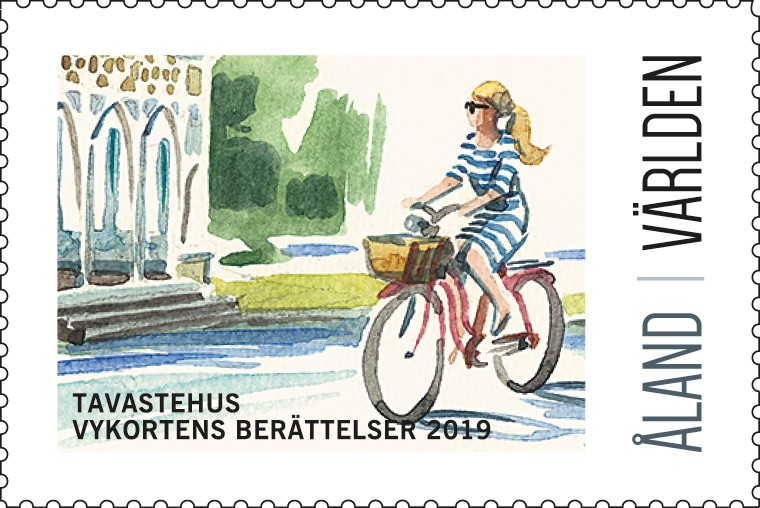 Exhibition stamp 2019 Hämeenlinna