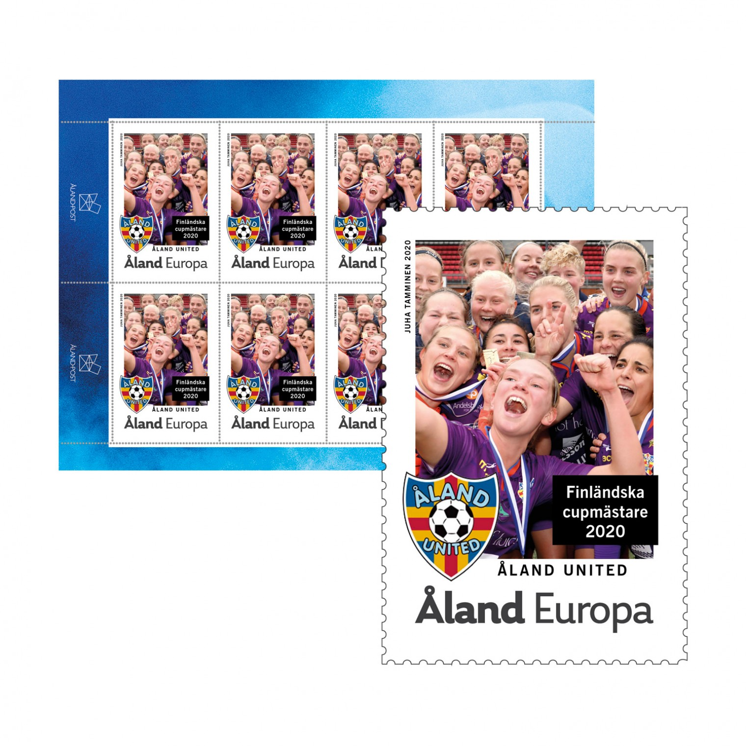 Åland United 2020 stamps Finnish cup champions