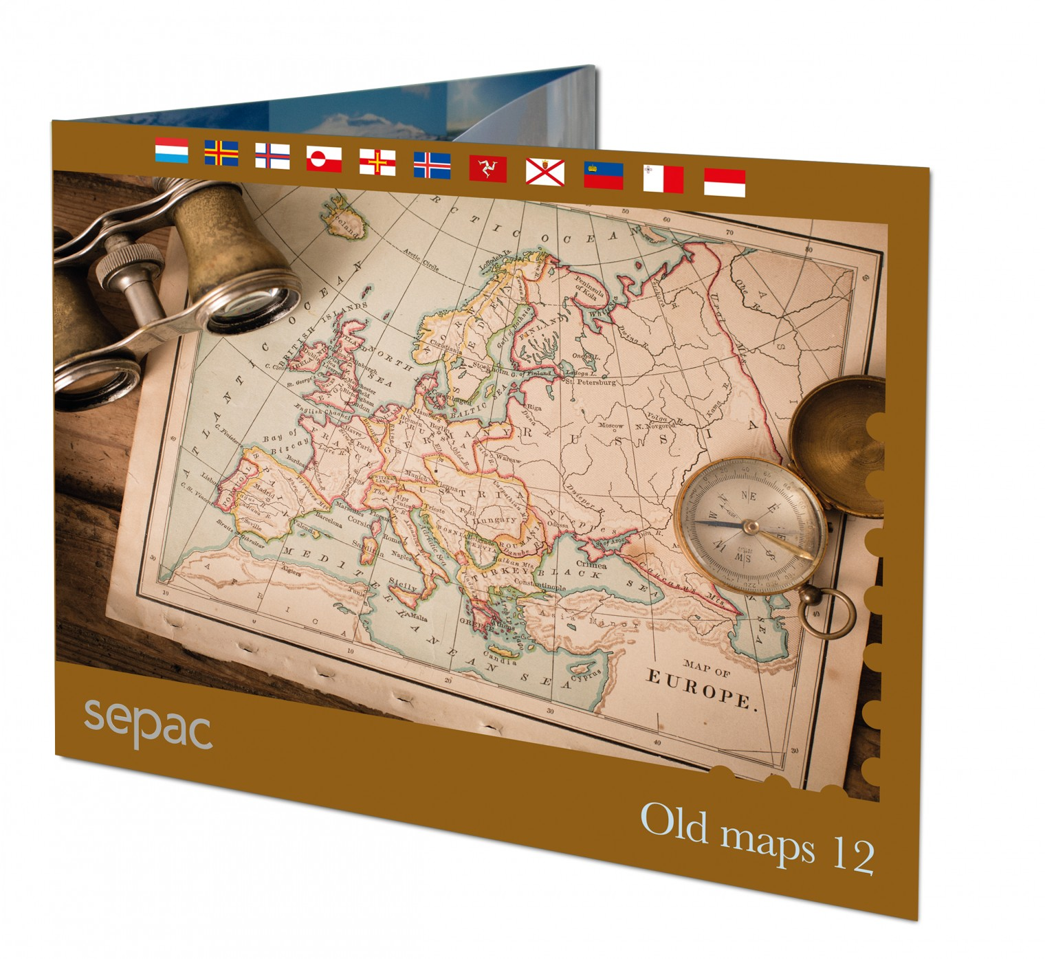 Sepac stamp pack 2021 Historical maps
