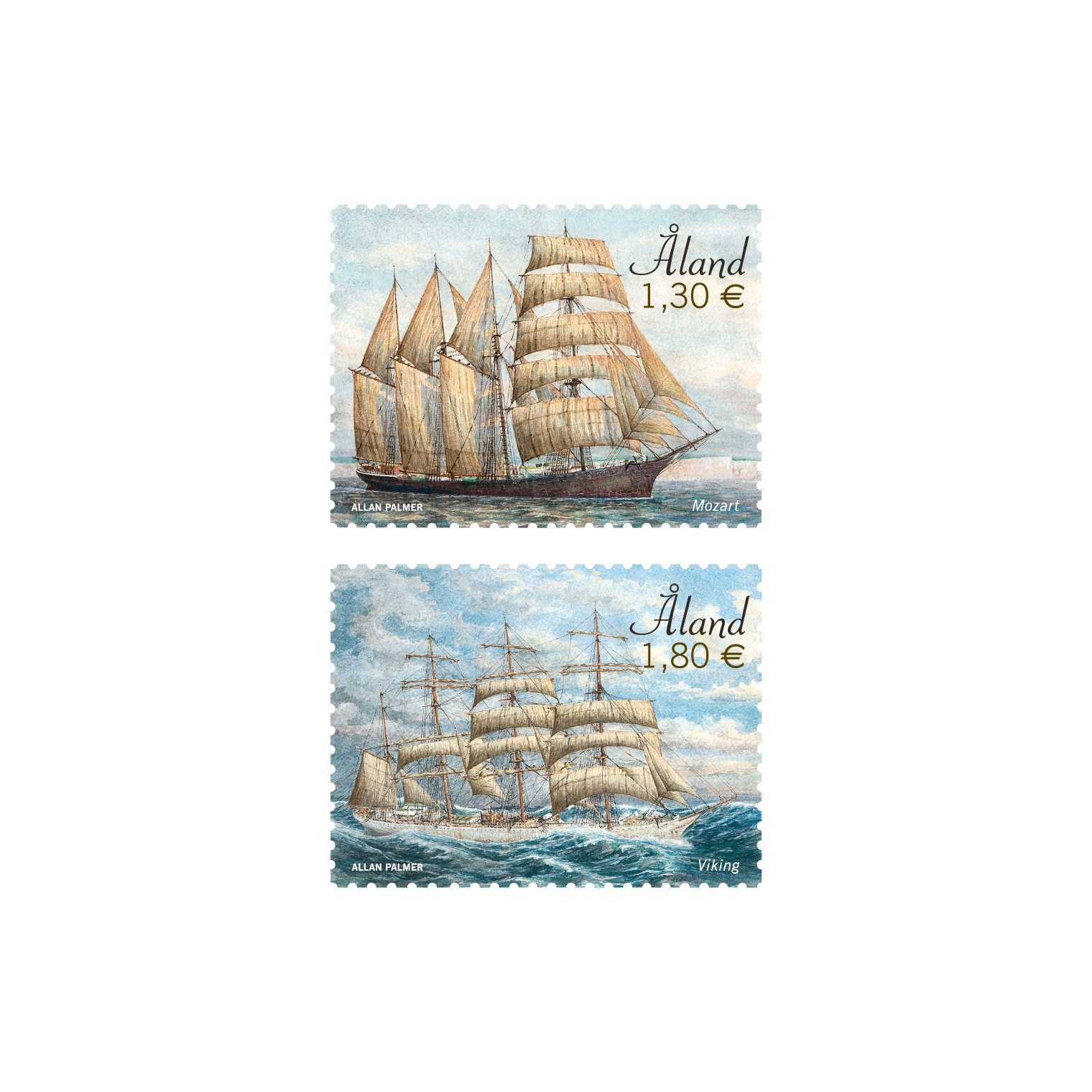 sailing ships Mozart and Viking